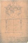 1826 Poort Militair Hospitaal Korenstraat, Vlissingen