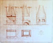 1847 Bouwtekening Smidse Scherminkelstraat.