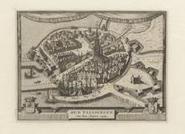 2047 [Plattegrond] van Oud Vlissingen van den jare 1500.