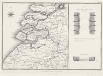 2193 Plattegrond van de provincie Zeeland en omgeving