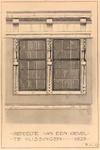 2231 Gedeelte van een gevel te Vlissingen 1625