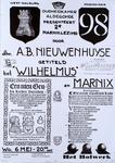 2281 Oudheidkamer Aldegonde presenteert 2e Marnixlezing door dhr. A.B. Nieuwenhuyse getiteld het 'Wilhelmus' en Marnix