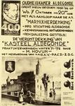 2283 Oudheidkamer Aldegonde opent nieuw seizoen 1998-'99 op .. Met als aanloop naar de a.s. 'Marnixherdenking' .. De ...