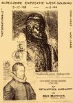 2285 Oudheidkamer Aldegonde presenteert bestaand en nieuw werk betreffende Filips Marnix van Sint Aldegonde (1540-1598)