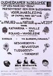 2290 Oudheidkamer Aldegonde op weg naar XXIe eeuw- presenteert een zeer bijzondere voorjaarslezing .. Getiteld 'de ...