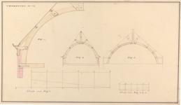 232 [Plan voor bouw Gasthuis; kappenplan]