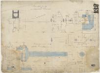 2344 Details Machine 18 en 19 : verbindingstangen