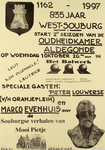 2356 835 jaar West-Souburg start 2e seizoen van de Oudheidkamer Aldegonde ...
