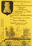 2382 't Toppunt van 1996 een lezing over Kasteel Aldegonde...