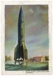239 Eerste V.2 lancering zaterdag 16 sept. 1944 07.30 uur te Serooskerke (Lancering van een V2-raket in Serooskerke)
