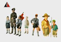 2489 (Uniformen van de padvinderij en de Jeugdstorm)