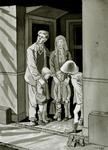2520 (De familie van der Burght, schuilend onder een trap tijdens de bombardementen)