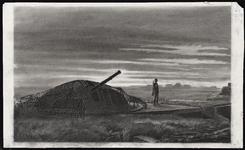 28 [Duitse luchtdoelbatterij bewapend met 4x10,5 cm luchtafweergeschut op de Nolledijk]