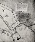 3294 [Rechterdeel van plattegrond van Vlissingen door Pieter Cornelis Poel, landmeter van de Grafelijkheid van Zeeland]