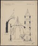 3480 Engelsche kerk Vlissingen (Aanzicht Paul Krügerstraat en plattegrond van de kerk en consistoriekamer)