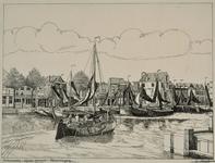 3508 Behouden thuiskomst Vlissingen (Gezicht op de Vissershaven en de Nieuwendijk)