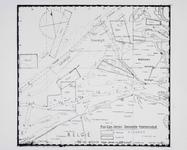 3513 [Prov. Com. herstel Zeeuwsche Visschersvloot; plattegrond met de ligging van zeemijnen)