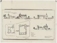 3528 Kasteel Aldegonde te West-Souburg [ met rekonstructies van plattegronden en gevels]