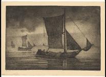 3608 [Vissersschepen op zee, waaronder de VL13]
