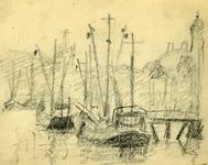 3667 [haven met schepen]