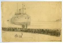 3668 [schip op zee]