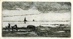3723 [zeegezicht met schepen]