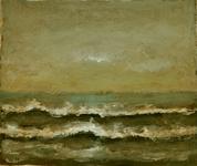 3895 [Aanspoelende golven]