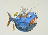 3911 (Opwindbare vis bestuurd door een muis)