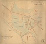 3967 Schets van een gedeelte der vestingwerken van Vlissingen met aanduiding wat daarvan te slechten en te dempen