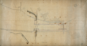 3971 [Plattegrond van de sluizen tussen de Marine- en Dokhaven]