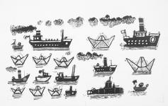 4016 [Diverse boten en schepen]