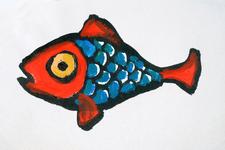 4060 (Rood-blauwe vis]