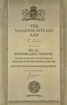 4211 Ter nagedachtenis aan H. Stofberg Sergeant-machinist bij de Koninklijke Marine die zijn leven gaf voor koningin en ...