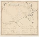 457 Plan van de haven en dok te Vlissingen