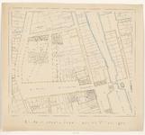 481 [De drie eerste Stadhuizen te Vlissingen. (met omliggende bebouwingen.)