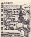 498 [Compilatietekening van Vlissingen, met beeldbepalende gebouwen]