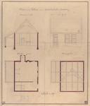 631 Plan van een tolhuis aan de Koudekerkschestraatweg