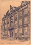 696 Het stadhuis aan de Houtkade te Vlissingen