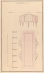 844 [Plan voor bouw Gasthuis; dwarsdoorsnede kelder]