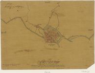 961 Vlissingen met oudt Vlissing aan de Hondt of Westerschelde en omgeving omstreeks den jare 1550.