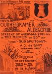 995 Vertellingen bij vuur : voor Oudheidkamer Aldegonde spreekt op woensdag 7 mei a.s. in 'het Bolwerk' om 20.00 uur ...