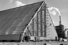3450 Hoechst, bouw fabriek, Vlissingen-Oost. Uitbreiding kathedraal