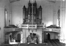 9667 Vlissingen. Sloop van de Nieuwe Kerk in de Wilhelminastraat. Interieur van de kerk