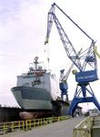 32275 Bouwnr. 377. Schroef Nederlandse amfibisch transportschip Zr. Ms. Rotterdam