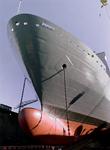 32282 Bouwnr. 377. Nederlandse amfibisch transportschip Zr. Ms. Rotterdam in dok Scheldepoort
