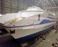 32590 Bouwnummer 379. Overzicht bouw Griekse catamaran Captain George voor de Catamaran Lines Maritime Company