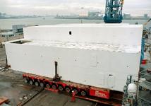 136 Ombouw afzinkbaar zwaar ladingschip Snimos Ace in de stenenlegger Seahorse I (IMO 8213744, bouwjaar 1994); in 1998 ...