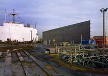 147 Ombouw afzinkbaar zwaar ladingschip Snimos Ace in de stenenlegger Seahorse I (IMO 8213744, bouwjaar 1994); in 1998 ...