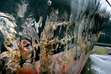 1558 Bulkcarrier Gardno (IMO 7725726, bouwjaar 1980), reparaties aan de beschadigde romp