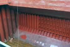 1664 Bulkcarrier Gardno (IMO 7725726, bouwjaar 1980), reparaties aan de beschadigde romp